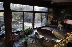 house built around rocks - Google Search