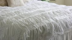 How to Make a Cirrus Anthropologie Duvet via TipJunkie.com