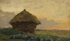 Paul Joseph Constantin 'Constan(t)' Gabriel (Amsterdam 1828-1903 Scheveningen) Hooischelf - Kunsthandel Simonis en Buunk, Ede (Nederland).