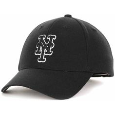 47 Brand New York Mets Mvp Curved Cap ( 25) ❤ liked on Polyvore featuring  men s fashion a514a5539315