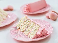 Cake by Courtney: Classic White Cake with Vanilla Buttercream. Best vanilla buttercream!