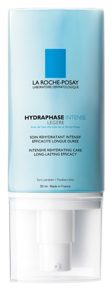 La Roche Posay introduces Hydraphase Intense Rich and Hydraphase Intense Light, two new moisturizers that deliver long-lasting, intense rehydration.    The new reinforced formulas replace Hydraphase Riche and Hydraphase Light. Containing glycerin, shea butter and hyaluronic acid fragments, application results in a double action:    Intense rehydration by infusing the skin with water and  Reinforcing the cellular cohesion to help the skin retain water durably.