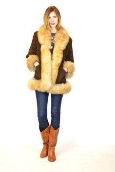 70&39s shearling coat by billiesclosetfinds on Etsy | More fur and