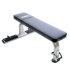 The TKO Flat Exercise Bench mainframes adds stability and durability, while the new easy handle design & rear transport wheels allow for easy mobility. Used Gym Equipment, Gym Exercise Equipment, Fitness Equipment, Sports Equipment, Home Treadmill, Incline Bench, Home Gym Exercises, Black Dining Room Chairs, Weight Benches