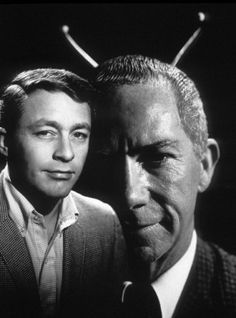 Bill Bixby, Ray Walston CBS My Favorite Martian
