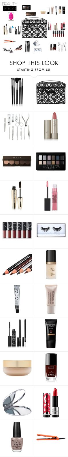 """""""Prepared for everything"""" by thaiadlr ❤ liked on Polyvore featuring beauty, Illamasqua, Petunia Pickle Bottom, Ilia, Maybelline, L'Oréal Paris, Huda Beauty, Too Faced Cosmetics, Laura Mercier and NARS Cosmetics"""
