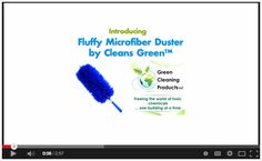 VIDEO :: Microfiber Best Solution for Dusting | Fluffy Duster by Cleans Green™ #greencleaning https://www.youtube.com/watch?v=_bVNhNWocG8