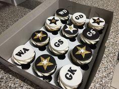 Netball theme cupcakes