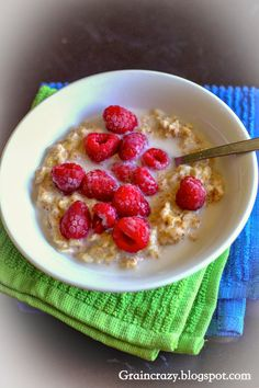 I have toasted quinoa  before for hot cereal but I have never toasted oatmeal for hot cereal. It added a nice nutty flavor to the oatme...