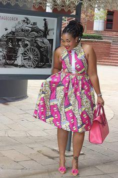 Halter Neck Dress – Bow Africa Fashion