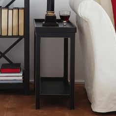Slim Side Table, Narrow Side Table, Square Side Table, Black Side Table, Wooden Side Table, Living Room Bench, Living Room End Tables, Sofa Tables, Narrow Nightstand