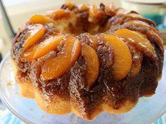 Peach Pecan Upside Down Bundt