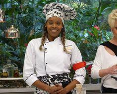Roberta Rodrigues no Super Chef (Foto: Mais Você/ TV Globo)