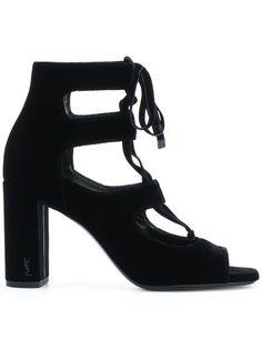 2095ecbe469 Saint Laurent Debbie Suede Platform Sandals   My Sweetest Guilty ...