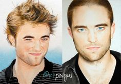 Drawing of #RobertPattinson