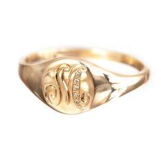 Classic Signet Ring | Ariel Gordon