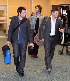 Cas, Sam & Dean #Supernatural