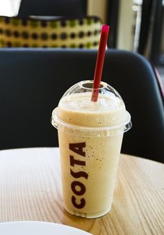 Coffee cooler #COSTA Costa Coffee, Cookies And Cream, Baking Ingredients, Iced Coffee, Cooking Timer, Cookie Dough, Food And Drink, Ice Cream, Drinks
