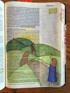 Luke 1532 Prodigal Son Bible Journaling