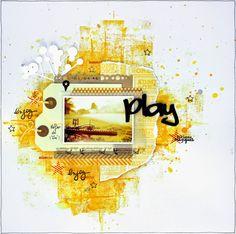 Scrap Plaisir: ** DT Scrapatalie : Play et adieuuuuu vélo **
