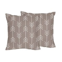 Decorative Accent Throw Pillows for the Outdoor Adventure Collection by Sweet Jojo Designs, Multi