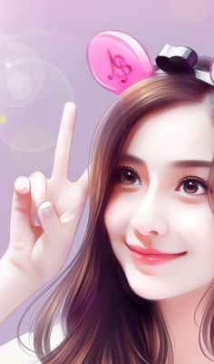 Cute Cartoon Pictures, Cute Cartoon Girl, Cool Anime Girl, Cute Girl Face, Anime Art Girl, Beautiful Girl Drawing, Cute Girl Drawing, Beautiful Fantasy Art, Beautiful Anime Girl