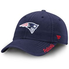 New England Patriots Pro Line Women's Fundamental Adjustable Hat - Navy