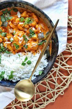Asian Recipes, Ethnic Recipes, Vegan, Garam Masala, Low Carb Recipes, Cauliflower, Food Photography, Food Porn, Homemade