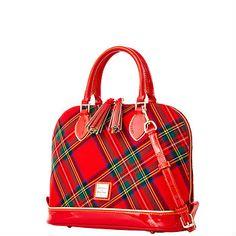Dooney & Bourke Highland Woven Zip Zip Satchel