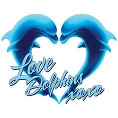Blue Dolphin Love