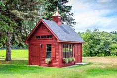 Grand Victorian: Sheds, Storage Buildings, Garages: The Barn Yard & Great Countr. - Grand Victorian: Sheds, Storage Buildings, Garages: The Barn Yard & Great Country Garages - Garage Shed, Barn Garage, Storage Shed Plans, Built In Storage, Smart Storage, Diy Storage, Victorian Sheds, Victorian Buildings, Small Barns