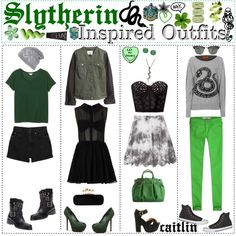 slytherin outfit - Google Search