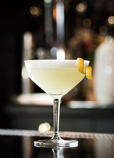 Black Dating White Lady Cocktail Drink