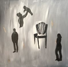 """#6 in """"Post-2016"""" series, """"The Empty Chair,"""" a narrative, perhaps, on leadership."""