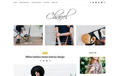 Score: 79 Chanel is a clean and minimalist theme that allows your reader to focus on your content. The beauty of this theme is its simplicity. It's suitable for a lot of purpose. Lifestyle, fashion, travel, photography and decor style is included in theme.