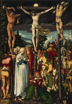 Hans Baldung Grien, The Crucifixion of Christ on ArtStack Hans Holbein, Religious Paintings, Religious Art, Hans Baldung Grien, Renaissance, Web Gallery Of Art, Free Art Prints, European Paintings, Oil Painting Reproductions