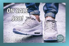 """The Air Max woven is on sale for $80 with code """"RUN20"""""""