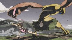 "鬼斬娘 再戦 ᵗˢᵘᵇᵘʳᵃ ""Onigiri musume""girl who hunt the daemon on Vimeo"