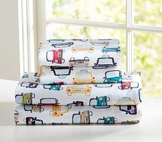 find this pin and more on boys room car sheet set on pottery barn kids - Kids Sheets Boys