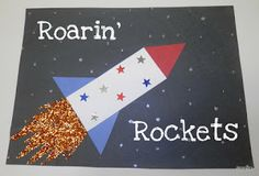 Tippytoe Crafts: Rockets