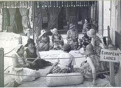 European ladies - Calcutta early 1900
