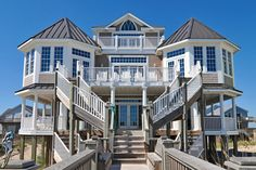 This is a great spot to have a wedding! Topsail Island beach weddings are beautiful and romantic.  The whole family can stay.