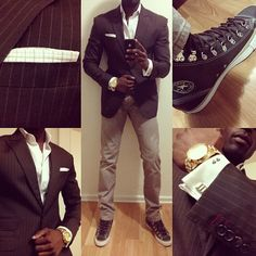 A well tailored suit is to women what lingerie is to men. Time to suit up fellas...#suit #style #swagg #gq #fashion #custom #bespoke #menswear #woman #igers #mensstyle #mensfashion #igdaily #webstagram #picoftheday #converse #photooftheday #pictureoftheday #instadaily #instamood #instastyle #instapic #instalove #bestoftheday #dailystylebattle #instagood #instafashion #newyork #nyc #follow @Lewis Chaplin Chaplin Hamilton