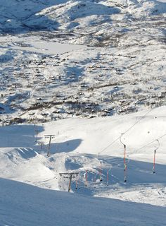 Haukelifjell Skisenter - a place to visit with friends :)