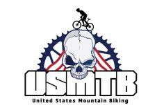 sports logo design for United States Mountain Biking by the logo boutique Best Logo Design, Custom Logo Design, Custom Logos, Marathon Logo, Personal Training Logo, Best Logo Maker, Logo Basketball, Sports Logo, Cool Logo