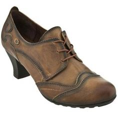 SALE - Pikolinos Berna Stacked Heels Womens Brown Leather - Was $170.00 - SAVE $36.00. BUY Now - ONLY $134.00.