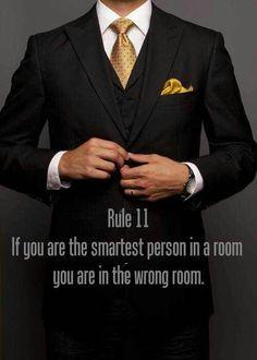 Gentleman's Rule#11