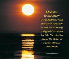 Staircase to the moon, Western Australia