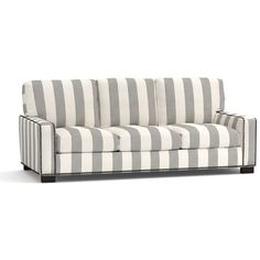Pottery Barn Turner Square Arm Upholstered Love Seat with Bronze... (¥306,140) ❤ liked on Polyvore featuring home, furniture, sofas, nail head sofa, fabric loveseat, upholstered couch, fabric couch and nailhead couch