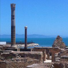 Roman Baths Carthage Tunisia
